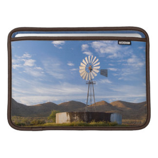 Windmill And Dam In The Karoo At Sunrise MacBook Sleeve