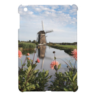 Windmill and flowers in the Netherlands ipad mini  Case For The iPad Mini