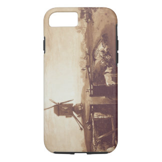 Windmill and Lock, engraved by William Say (1768-1 iPhone 8/7 Case