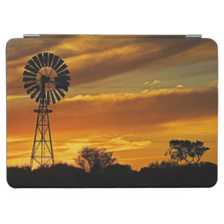 Windmill and Sunset, William Creek, Oodnadatta iPad Air Cover