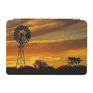 Windmill and Sunset, William Creek, Oodnadatta iPad Mini Cover