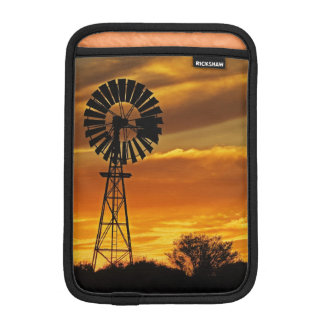 Windmill and Sunset, William Creek, Oodnadatta iPad Mini Sleeve