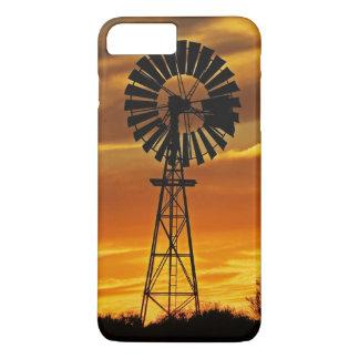 Windmill and Sunset, William Creek, Oodnadatta iPhone 8 Plus/7 Plus Case