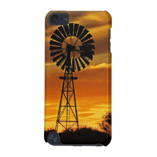 Windmill and Sunset, William Creek, Oodnadatta iPod Touch (5th Generation) Cover