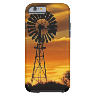 Windmill and Sunset, William Creek, Oodnadatta Tough iPhone 6 Case