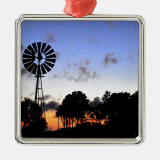 WINDMILL AT DAY BREAK QUEENSLAND AUSTRALIA CHRISTMAS ORNAMENT