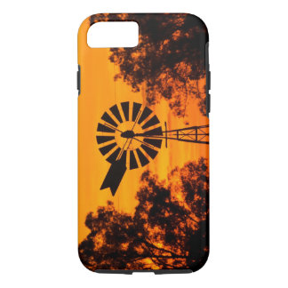 Windmill at Sunset, Australia iPhone 8/7 Case