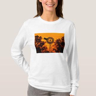 Windmill at Sunset, Australia T-Shirt