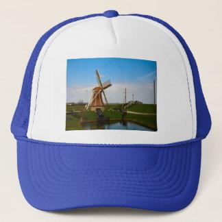 Windmill by the Isjel Meer Trucker Hat