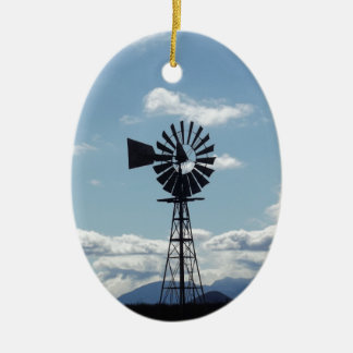 Windmill Christmas Ornament
