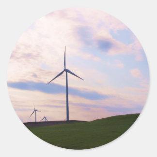 Windmill! Classic Round Sticker