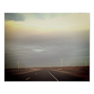 Windmill Highway Poster