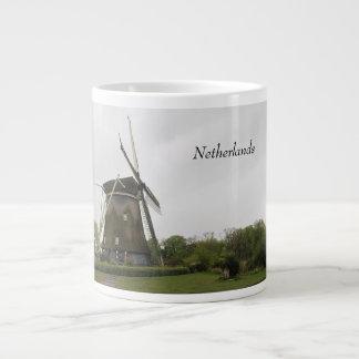 Windmill, Holland, Netherlands, Amsterdam, Dutch Large Coffee Mug