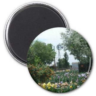 Windmill & Iris Field Magnet