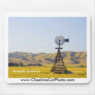Windmill Livermore California Products Mouse Pads
