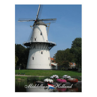 Windmill Middelburg Postcard