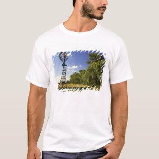 Windmill near Hume Highway, Victoria, Australia T-Shirt
