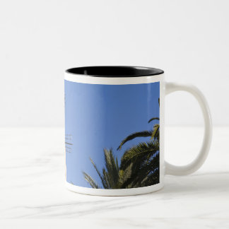 Windmill, Palma, Mallorca, Spain Two-Tone Coffee Mug