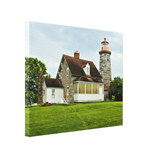 Windmill Point Lighthouse Canvas Print