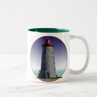 Windmill Point Lighthouse Two-Tone Coffee Mug