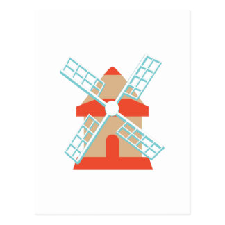Windmill Postcard
