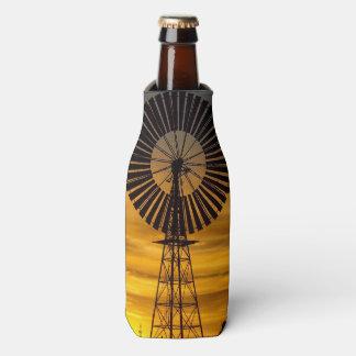 Windmill sunset bottle cooler