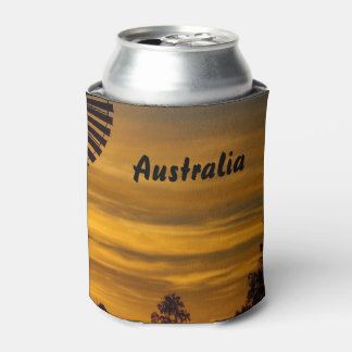 Windmill sunset can cooler