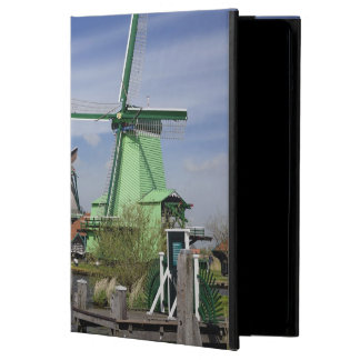 Windmill, Zaanse Schans, Holland, Netherlands 2 Cover For iPad Air