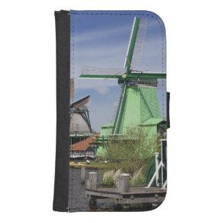 Windmill, Zaanse Schans, Holland, Netherlands 2 Samsung S4 Wallet Case