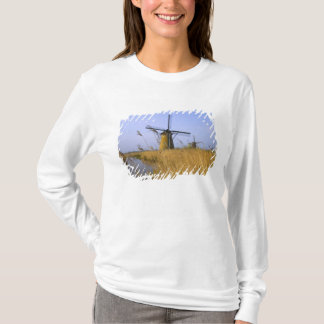 Windmills along the canal in Kinderdijk, 2 T-Shirt
