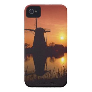 Windmills at sunset, Kinderdijk, Netherlands Case-Mate iPhone 4 Case