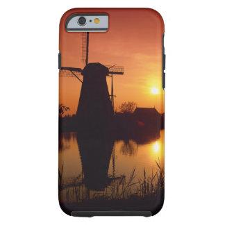Windmills at sunset, Kinderdijk, Netherlands Tough iPhone 6 Case
