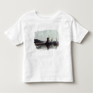 Windmills by a River, 19th century Toddler T-Shirt