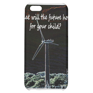 Windmills for the future generation iPhone 5C cover