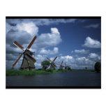 Windmills in Holland Postcard