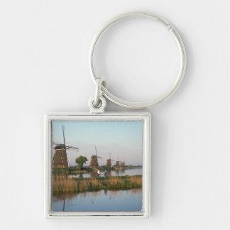 Windmills, Kinderdijk, Netherlands Key Ring