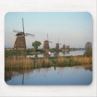 Windmills, Kinderdijk, Netherlands Mouse Mat