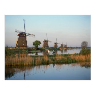 Windmills, Kinderdijk, Netherlands Postcard