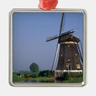 Windmills, Leidschendam, Netherlands Christmas Ornament