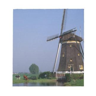 Windmills, Leidschendam, Netherlands Notepad