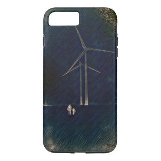 Windmills of Change Artistic Abstract Phone Case