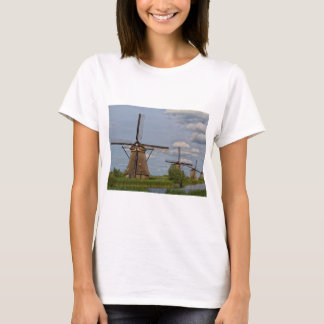 windmills of Kinderdijk world heritage site T-Shirt