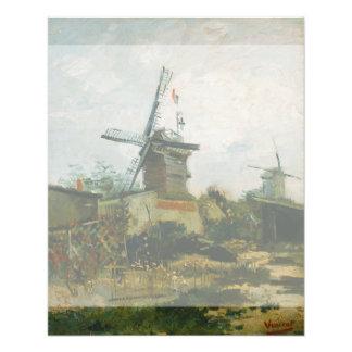 Windmills on Montmartre by Vincent Van Gogh 11.5 Cm X 14 Cm Flyer