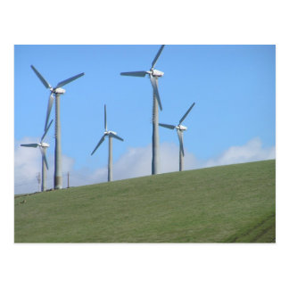 Windmills on the 580 post card