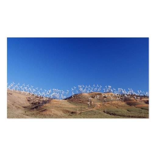 Windmills over the hill 2 business cards