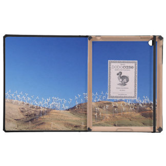 Windmills over the hill 2 iPad case