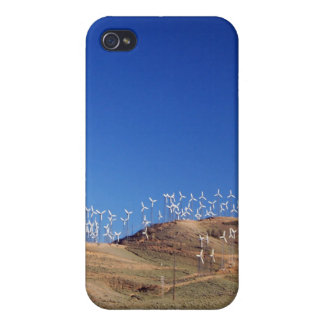 Windmills over the hill 2 iPhone 4 cases