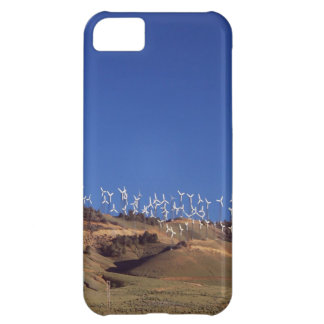 Windmills over the hill iPhone 5C case