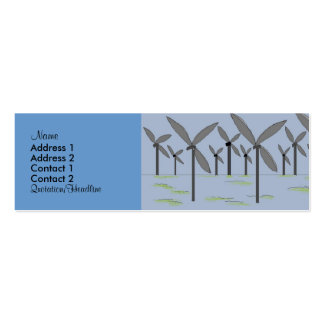Windmills Profile Cards Pack Of Skinny Business Cards