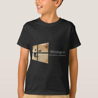 Windoge 8 tee shirt